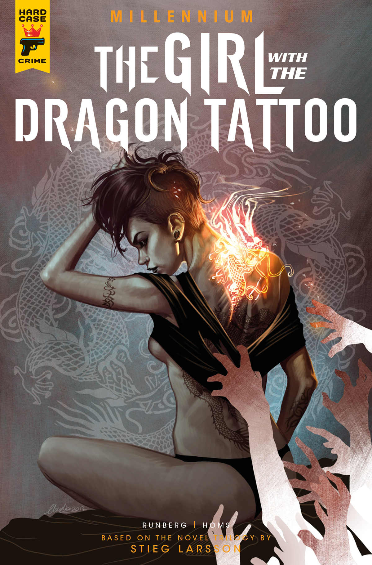 May171836 millennium girl with the dragon tattoo 2 cvr for Girl with dragon tattoo books in order