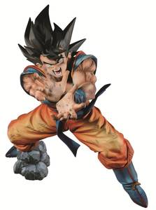 DBZ GOKU SUPER KAMEHAME-HA PREM COLOR FIG