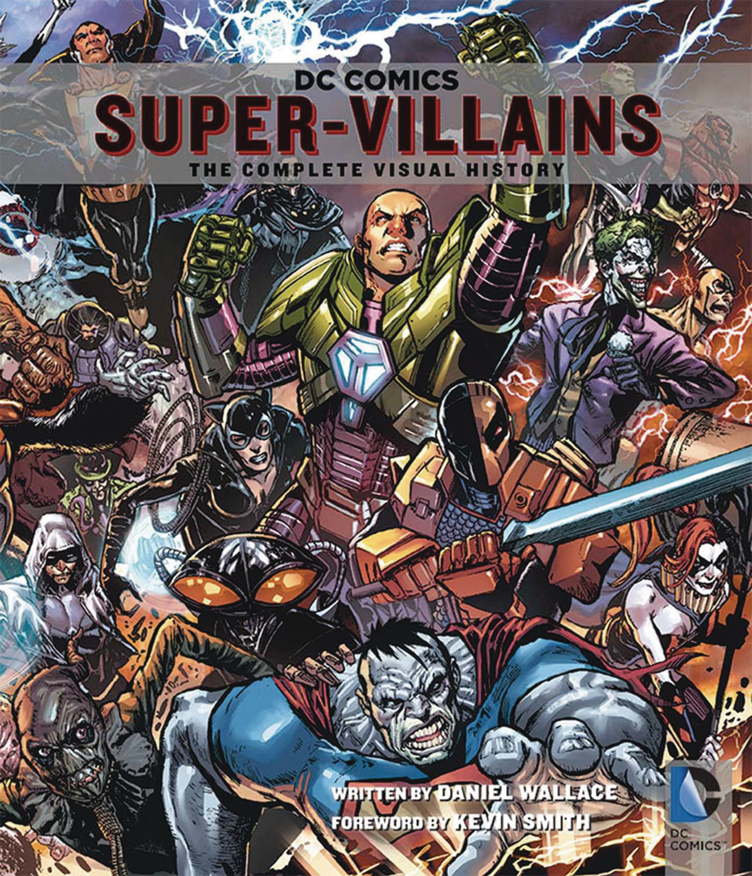 DC COMICS SUPER VILLAINS COMP VISUAL HIST SC