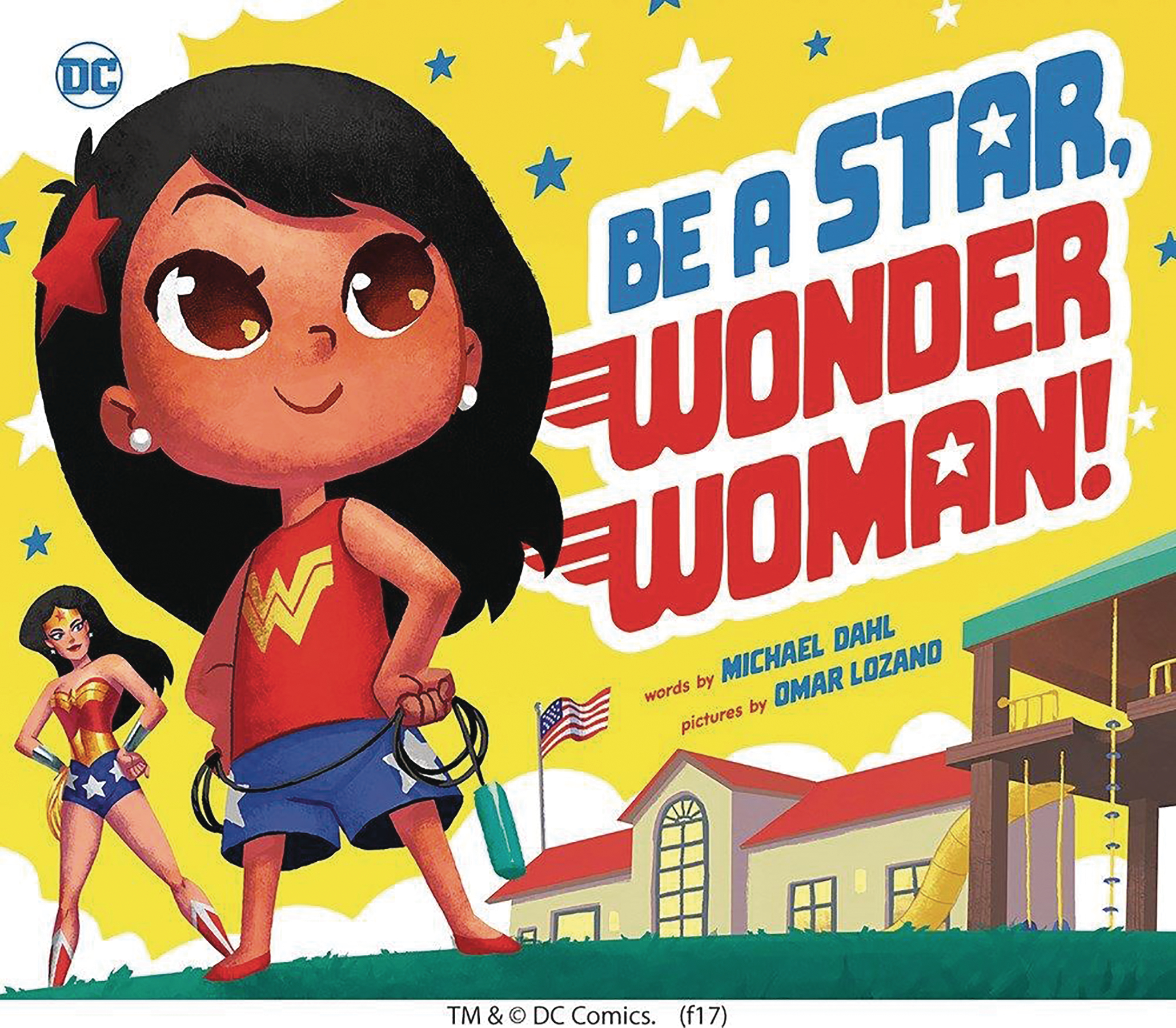 BE A STAR WONDER WOMAN YR PICTURE BOOK