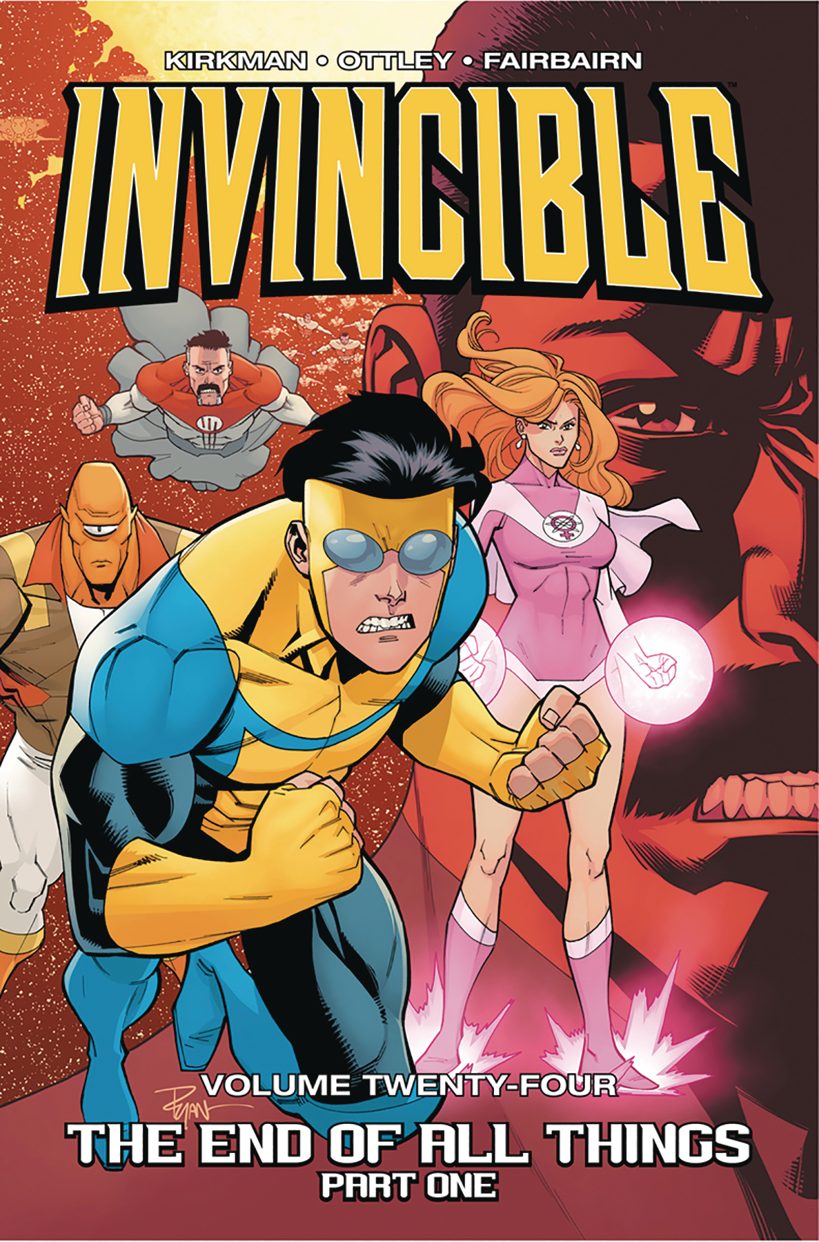 INVINCIBLE TP VOL 24 END OF ALL THINGS PART 1 (JUL170817) (M
