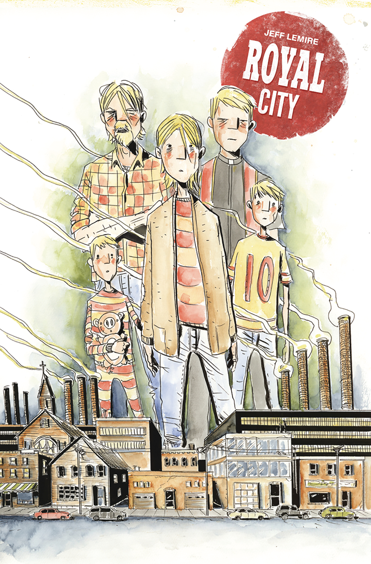 ROYAL CITY TP VOL 01 NEXT OF KIN
