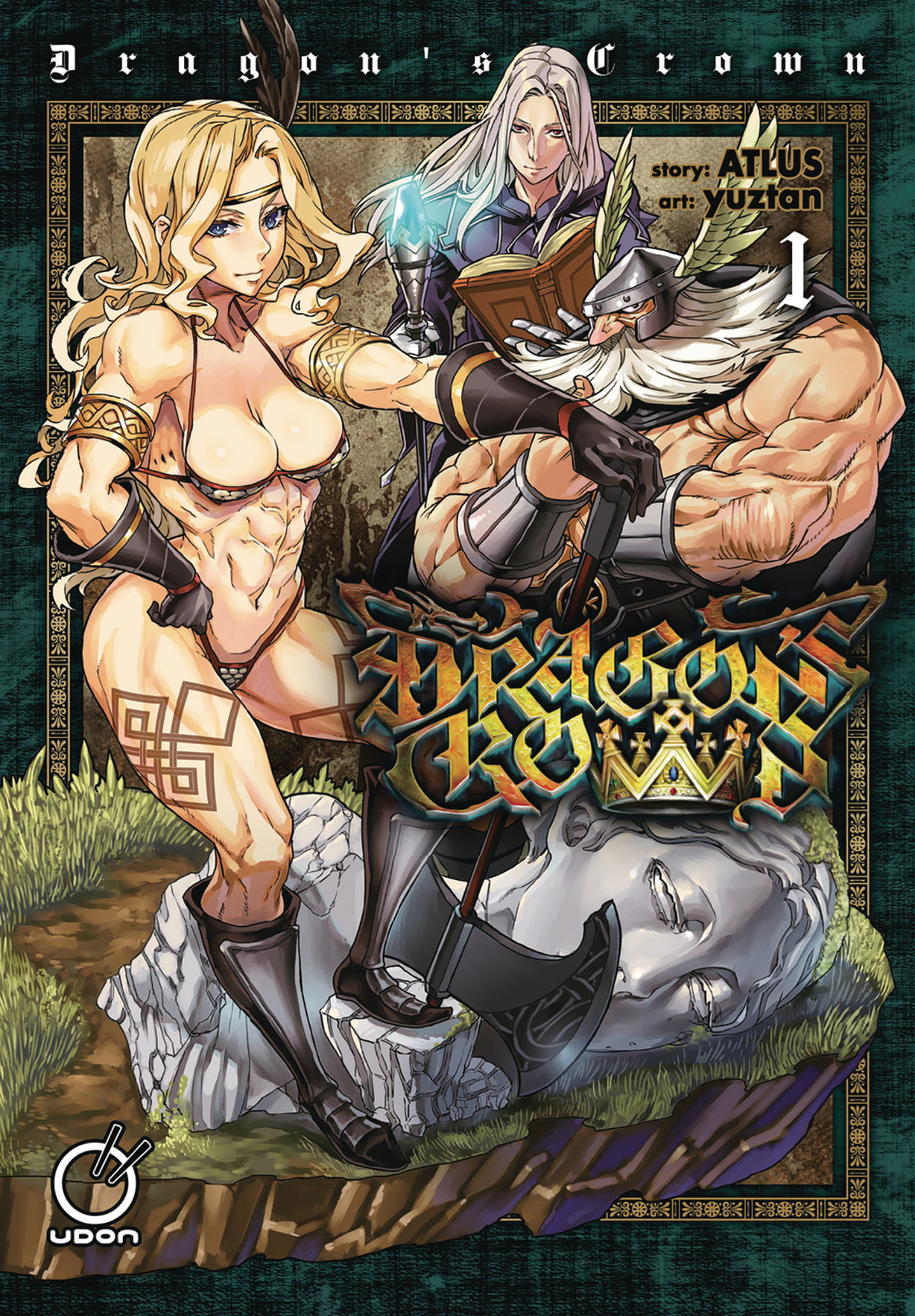 DRAGONS CROWN GN VOL 01
