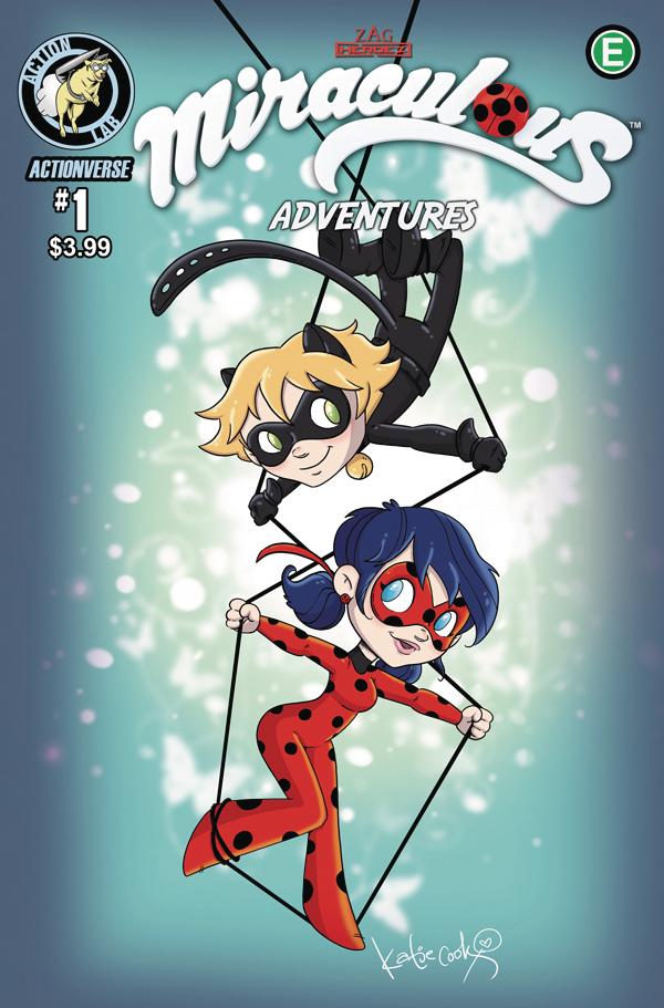May171000 Miraculous Adventures Ladybug Cat Noir 1 Cvr B Cook