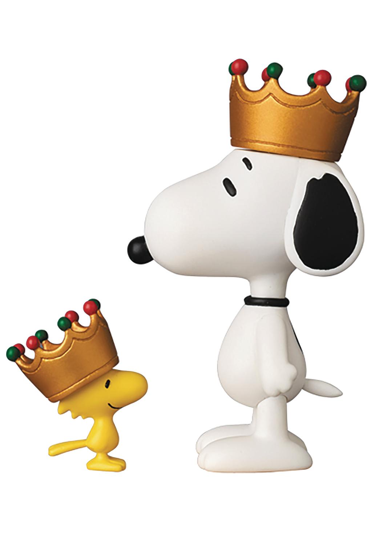 d5b5e41fc5f9e3 FEB178514 - PEANUTS KING SNOOPY   WOODSTOCK UDF FIG SERIES 6 ...