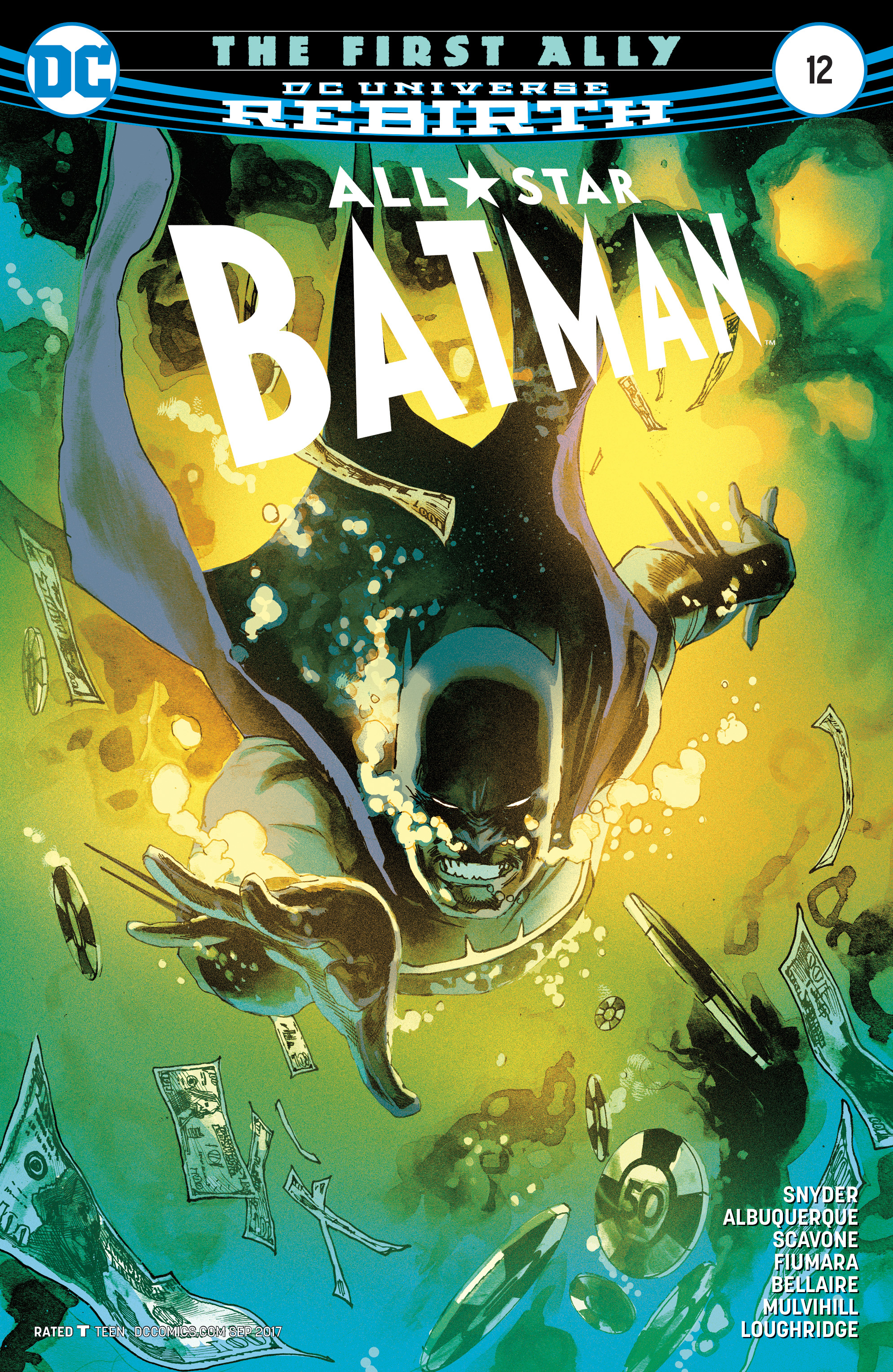 ALL STAR BATMAN #12