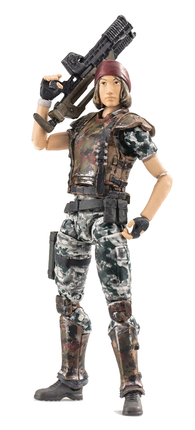 ALIENS COLONIAL MARINE REDDING PX 1/18 SCALE FIGURE (RES) (C