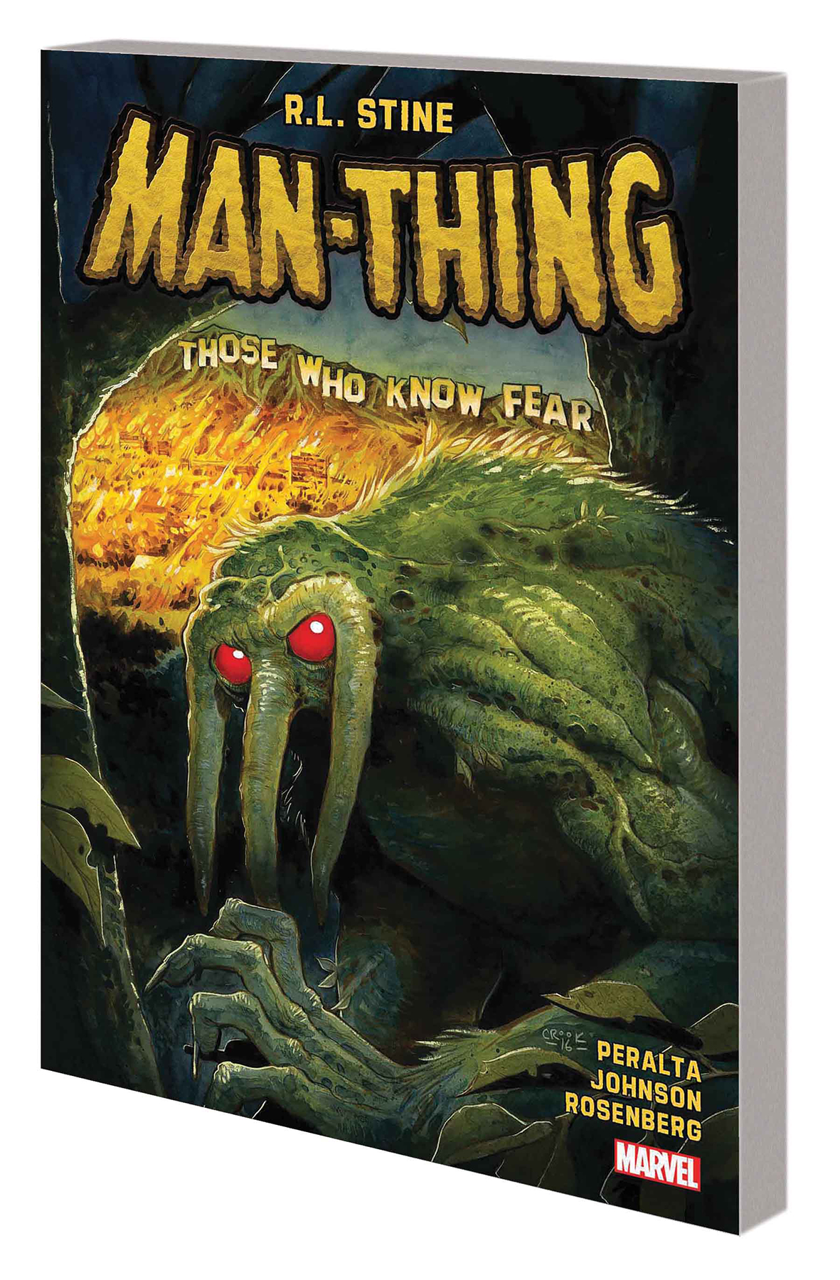 MAN-THING BY R L STINE TP VOL 01