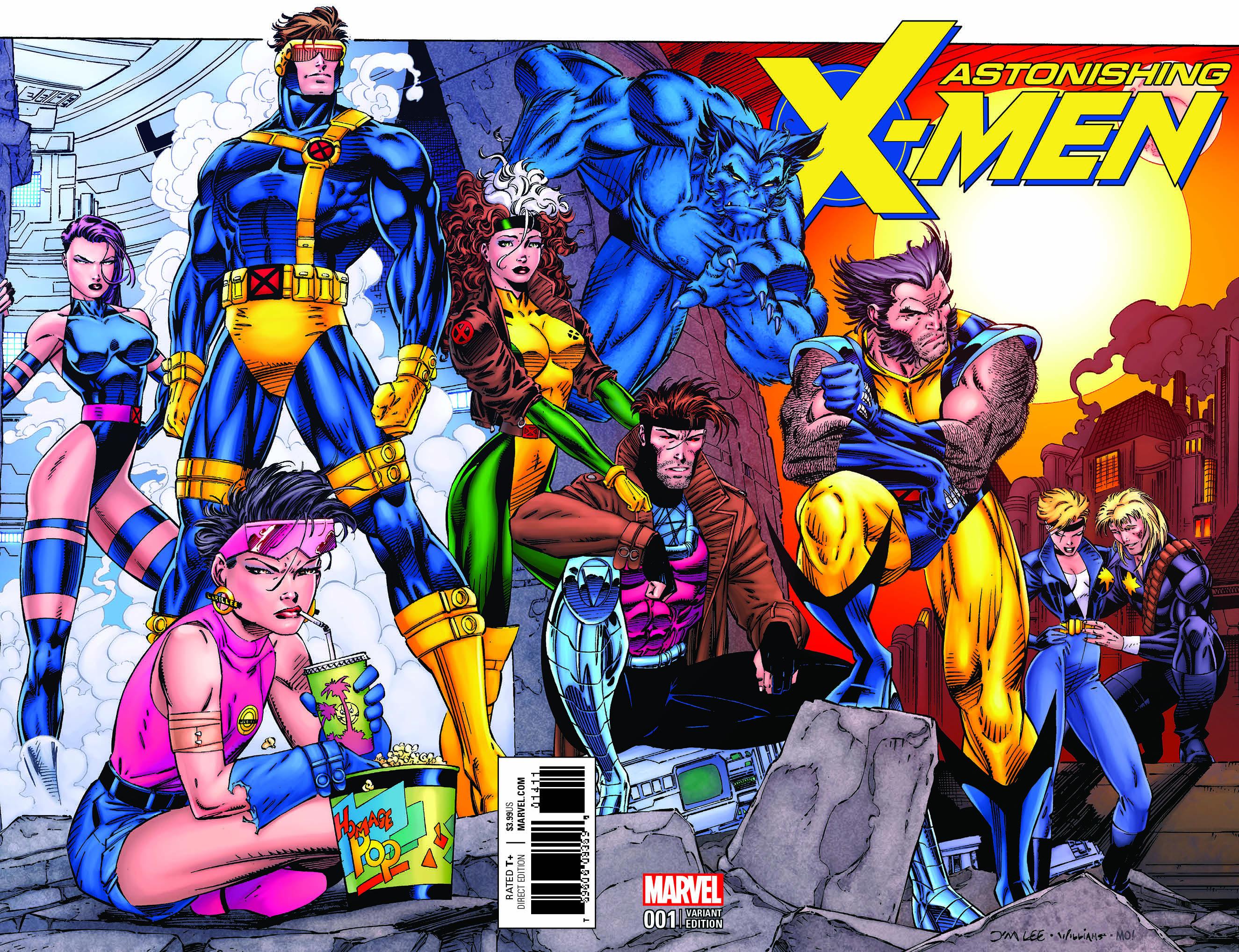 Imagenes De Xmen: ASTONISHING X-MEN #1 JIM LEE REMASTERED VAR