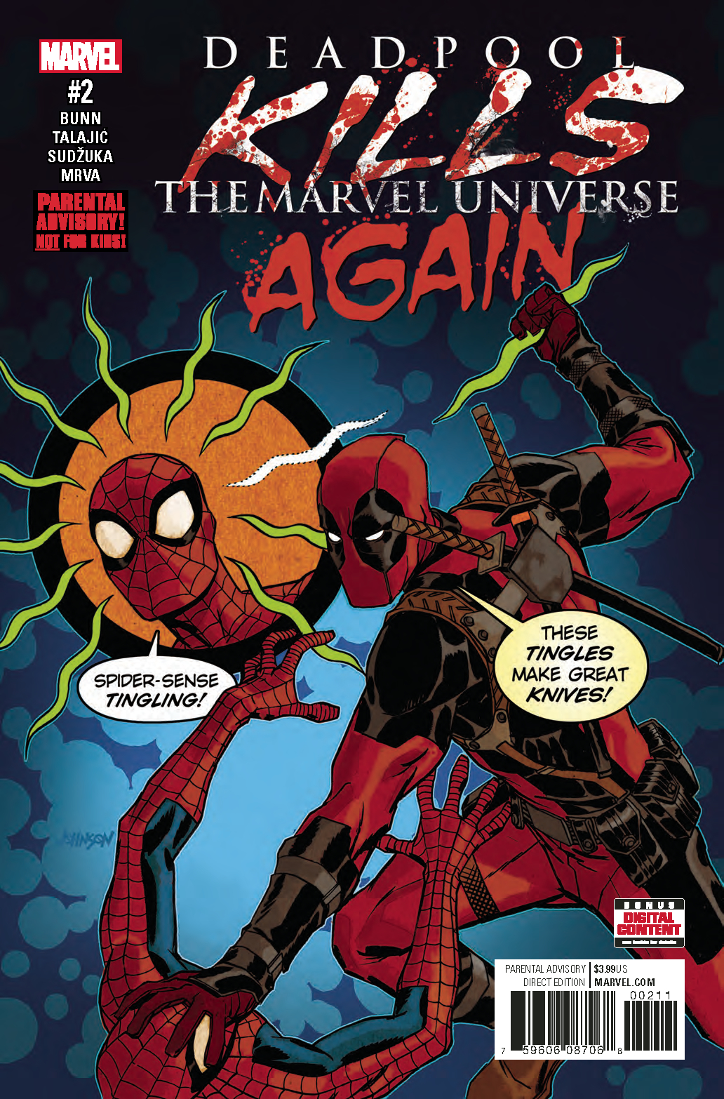 DEADPOOL KILLS MARVEL UNIVERSE AGAIN #2 (OF 5)