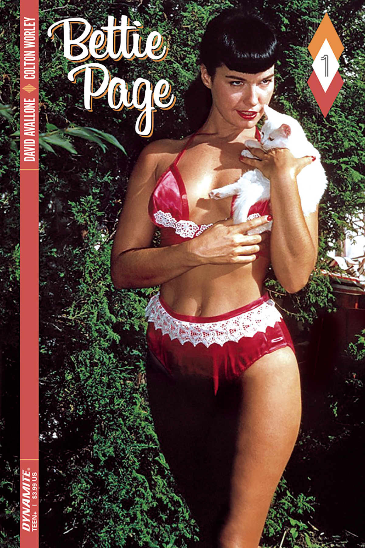 BETTIE PAGE #1 CVR D COLOR PHOTO