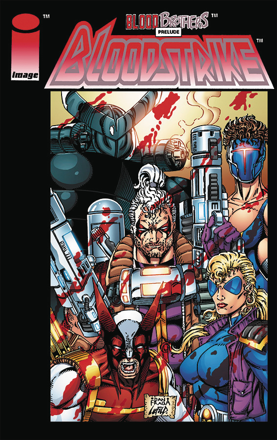 BLOODSTRIKE #1 REMASTERED ED CVR A FRAGA