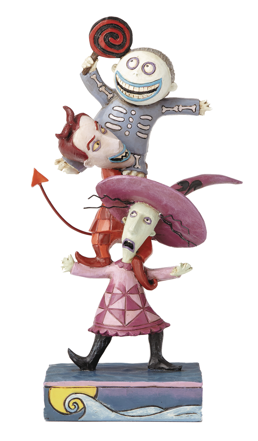 DISNEY TRADITIONS NBX LOCK SHOCK AND BARREL 2 FIG