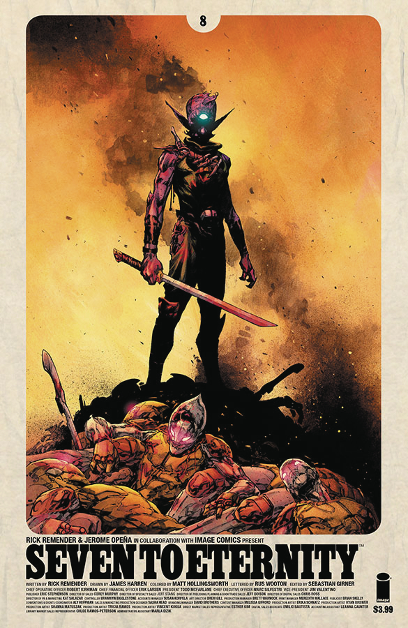 SEVEN TO ETERNITY #8 CVR A OPENA & HOLLINGSWORTH