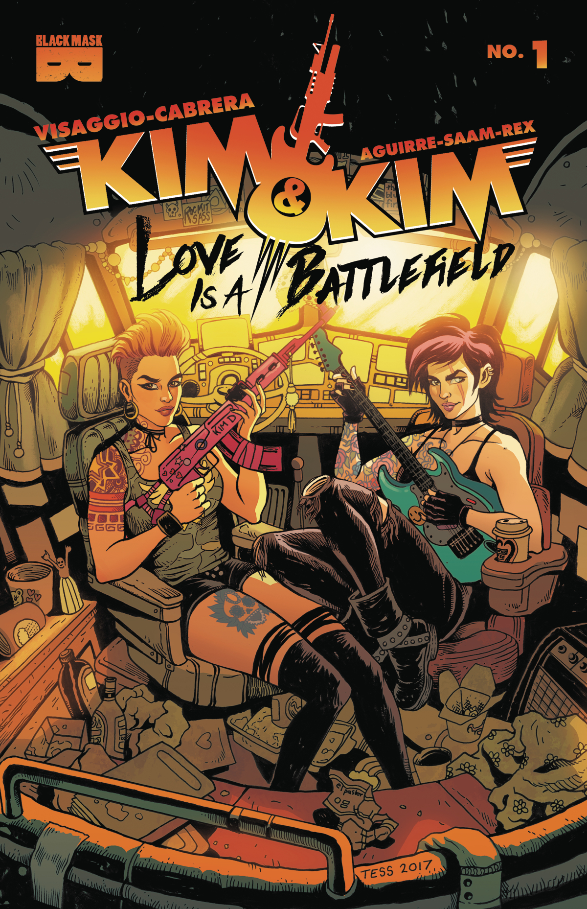 KIM AND KIM LOVE IS A BATTLEFIELD #1 (MR)