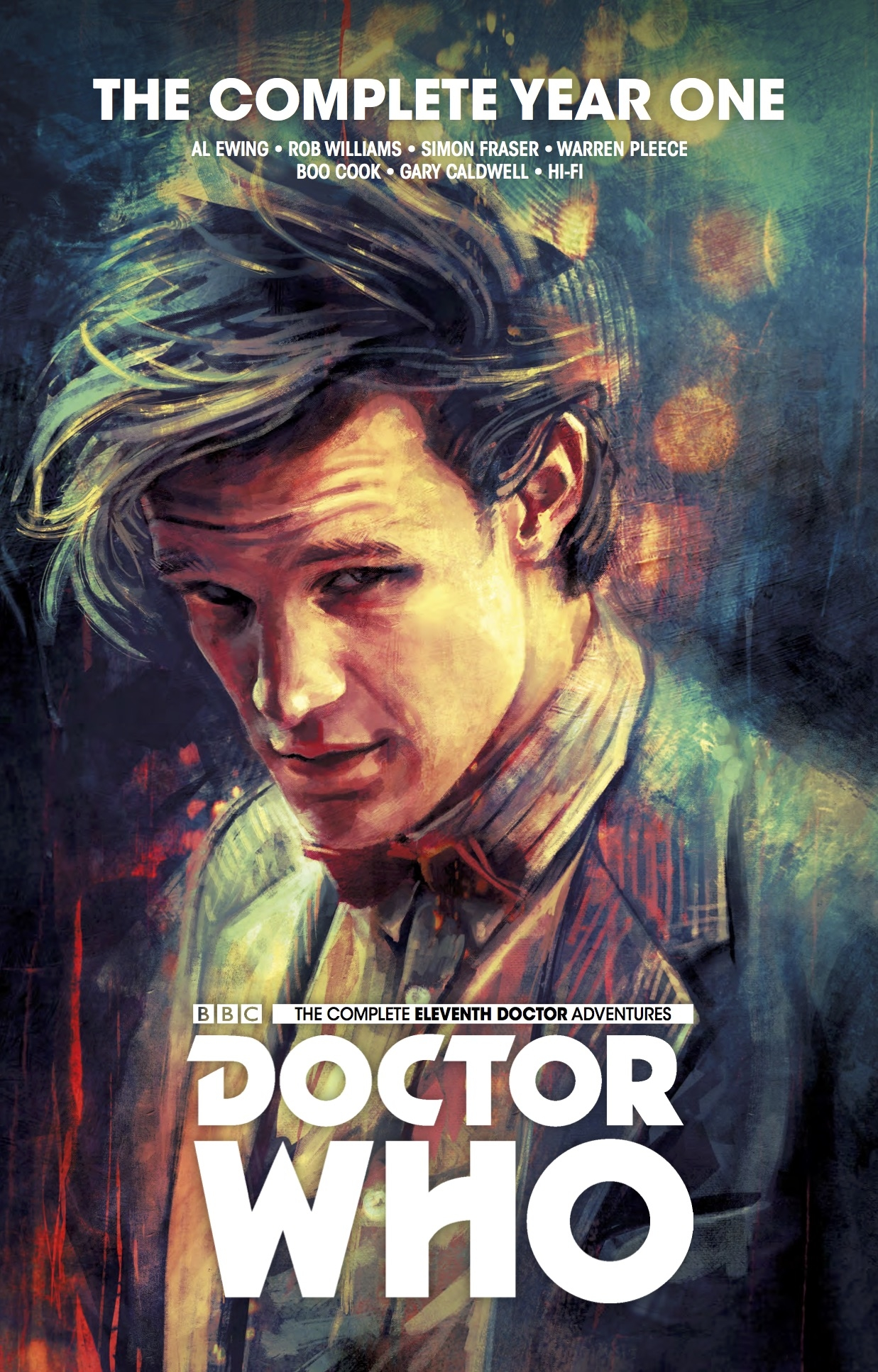 DOCTOR WHO 11TH COMPLETE ED YEAR ONE HC