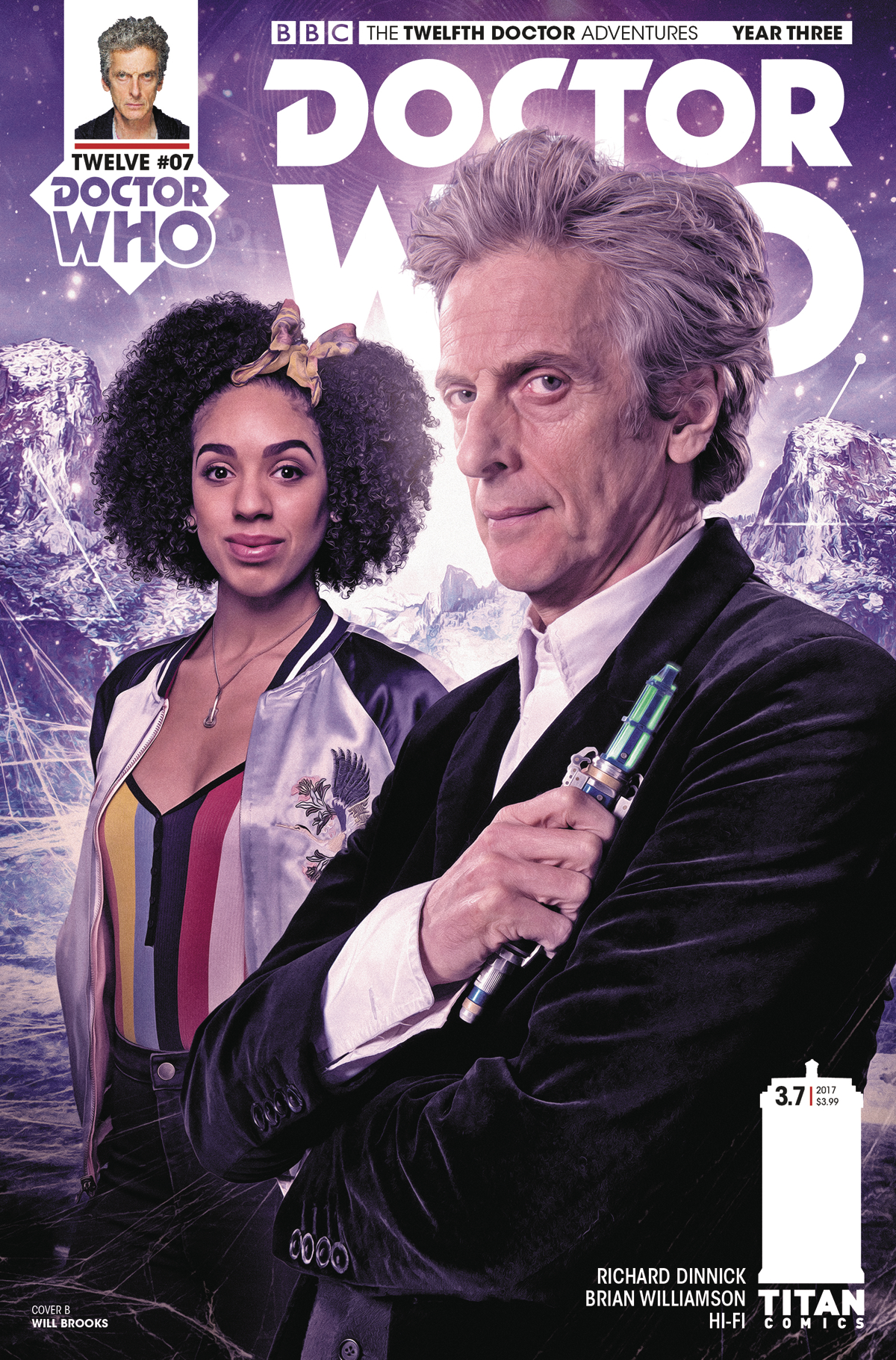 DOCTOR WHO 12TH YEAR THREE #7 CVR B BROOKS