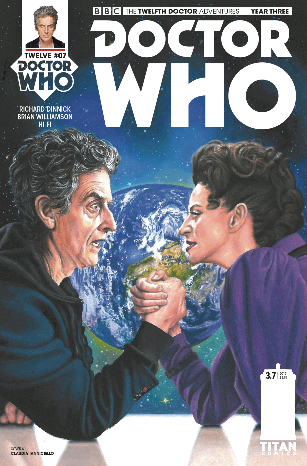 DOCTOR WHO 12TH YEAR THREE #7 CVR C WALKER