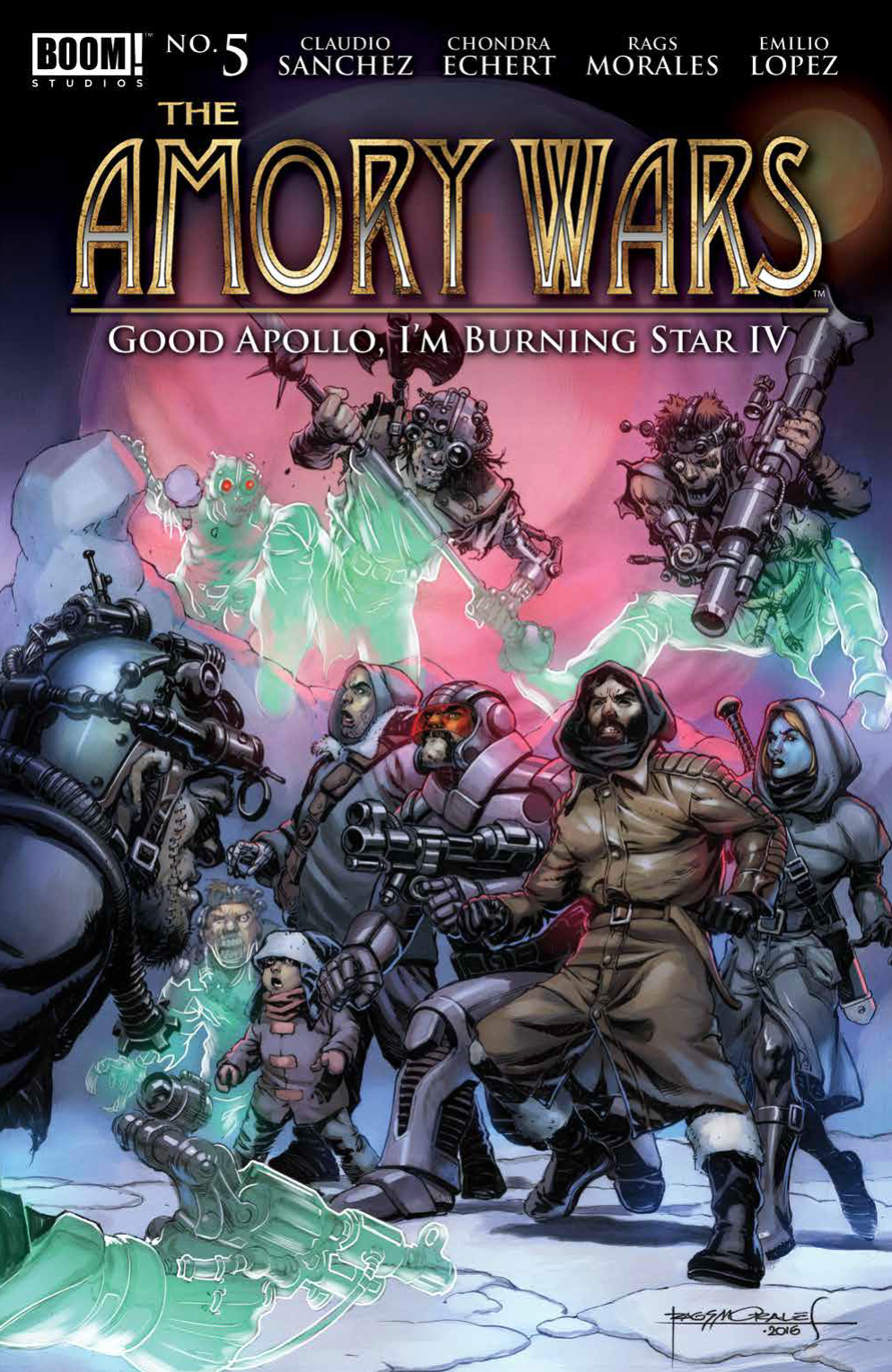 AMORY WARS GOOD APOLLO #5 (OF 12)
