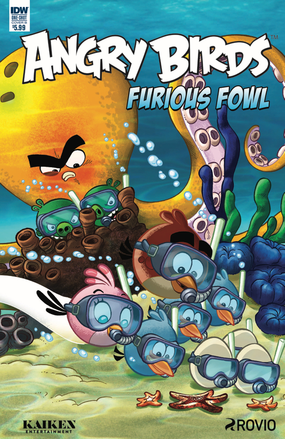 ANGRY BIRDS FURIOUS FOWL CVR B RODRIQUES