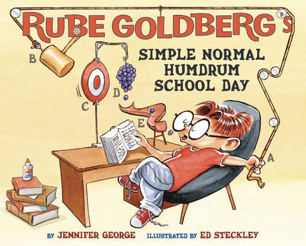 RUBE GOLDBERGS SIMPLE NORMAL HUMDRUM SCHOOL DAY HC