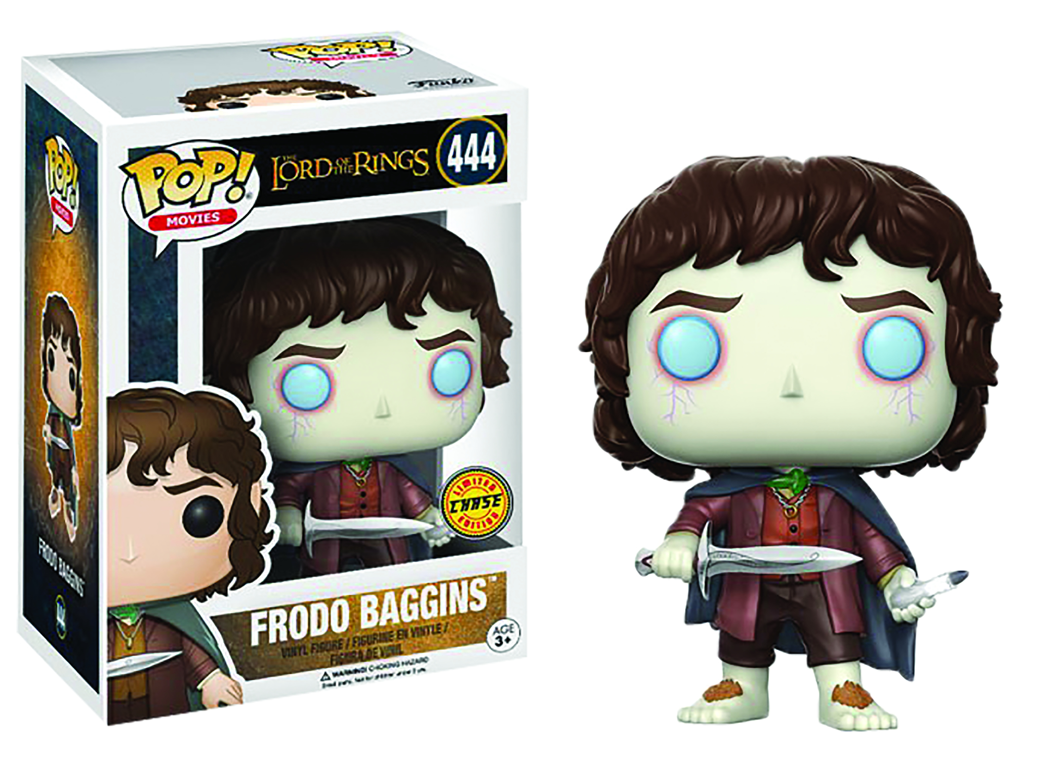 POP LORD OF THE RINGS FRODO VINYL FIG