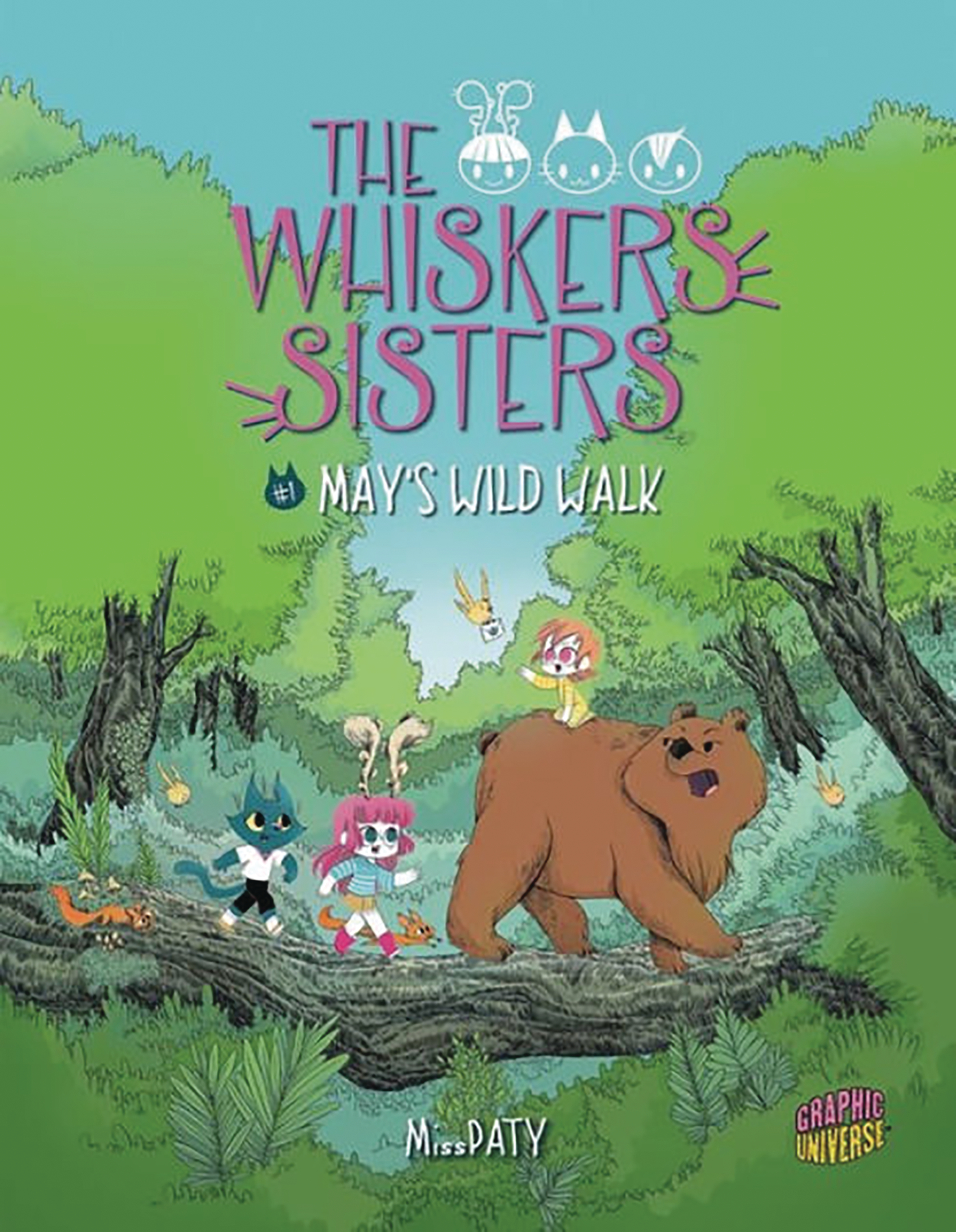 WHISKERS SISTERS YA GN VOL 01 MAYS WILD WALK
