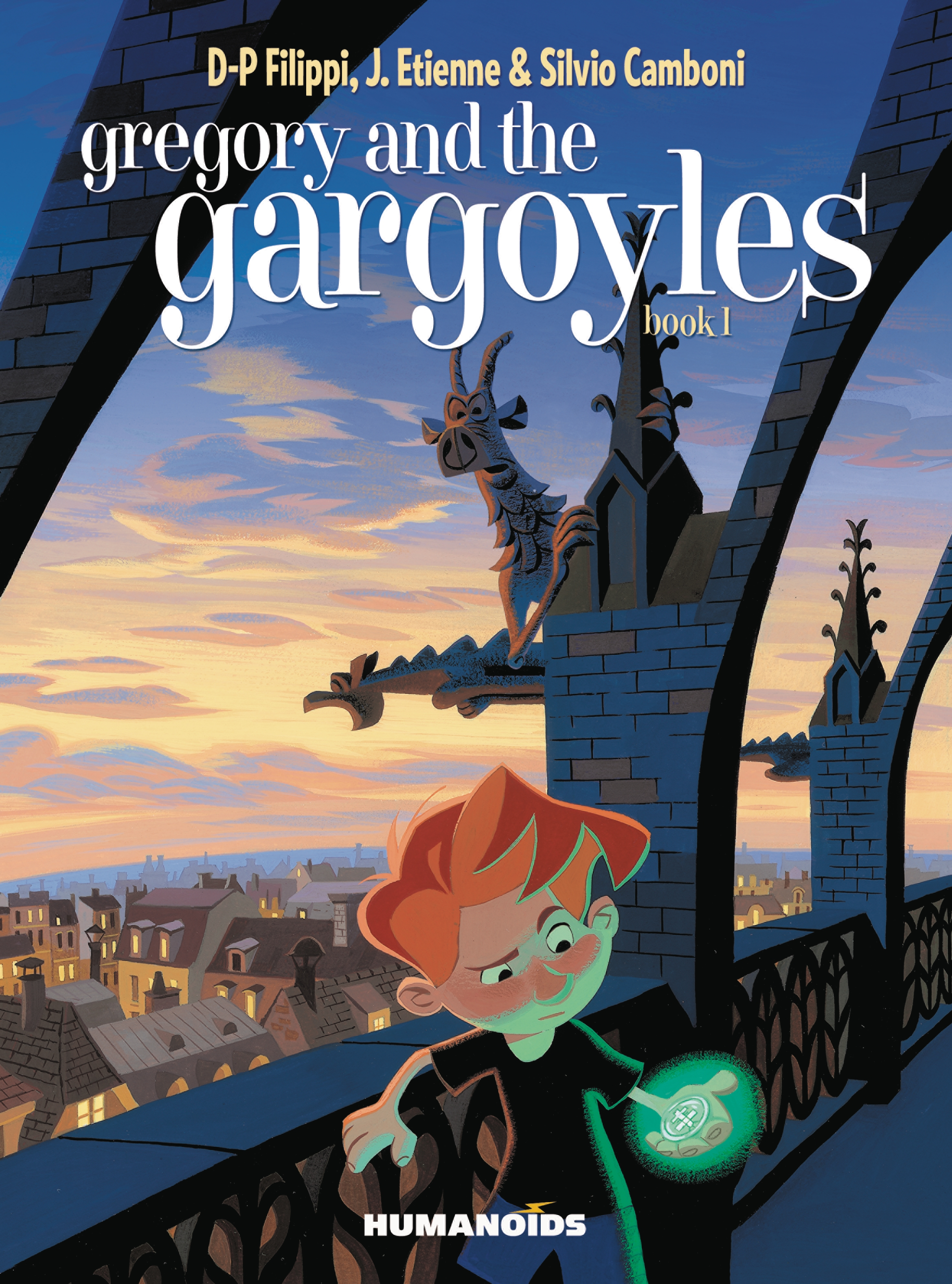 GREGORY AND THE GARGOYLES HC VOL 01