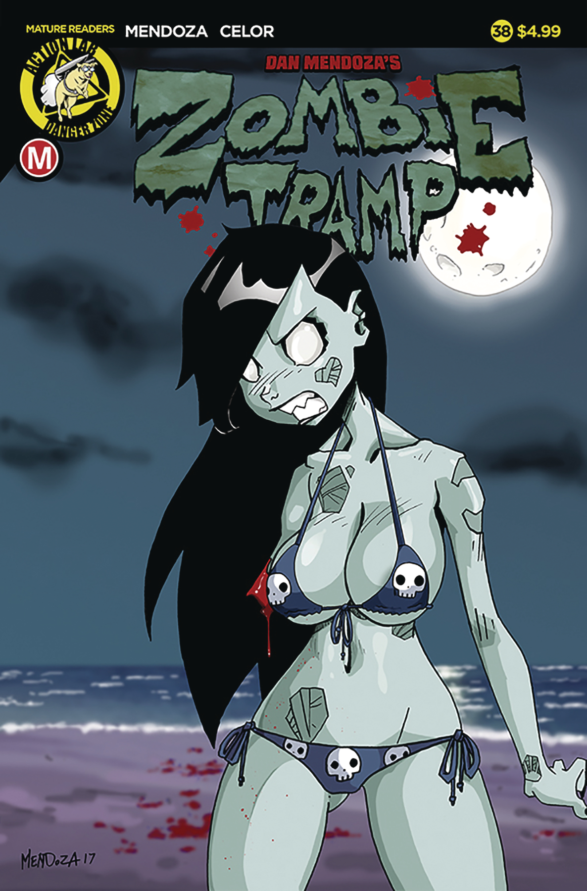 ZOMBIE TRAMP ONGOING #38 CVR A MENDOZA