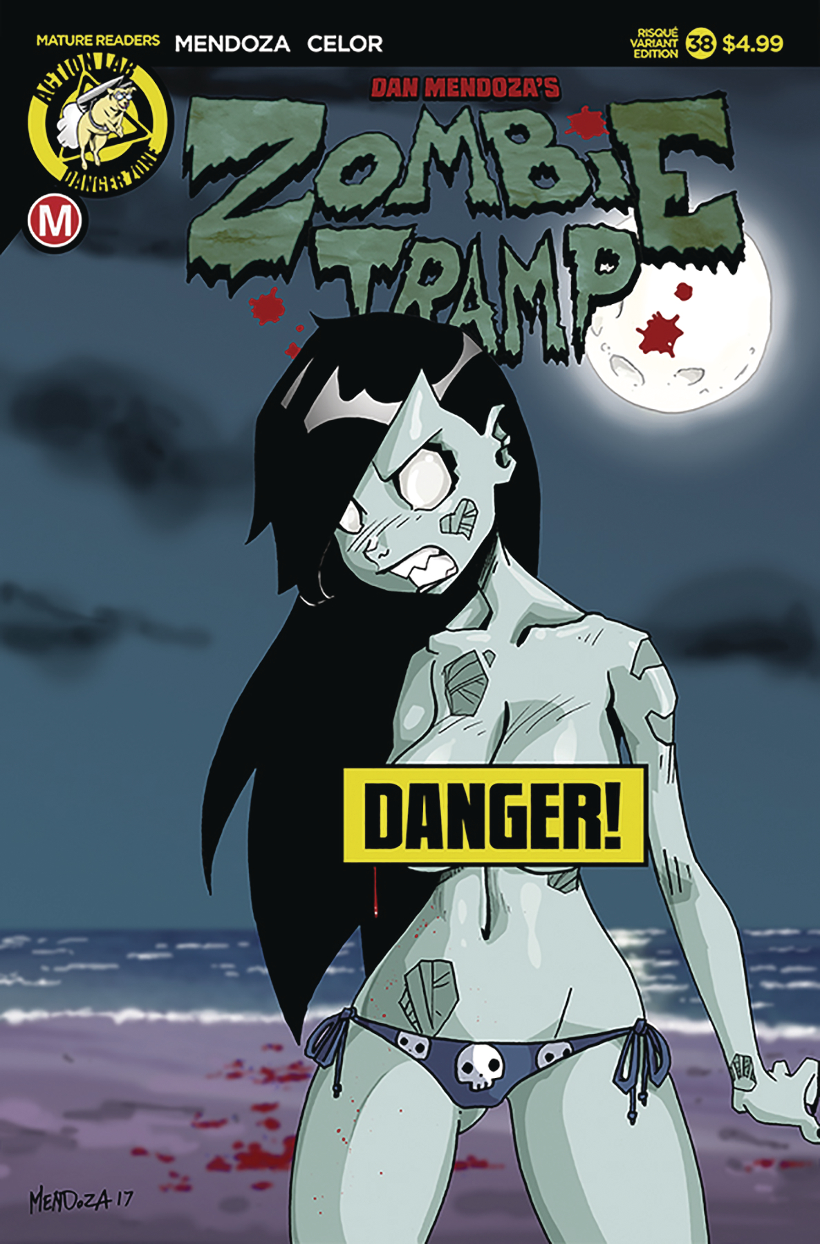 ZOMBIE TRAMP ONGOING #38 CVR B MENDOZA RISQUE (MR)