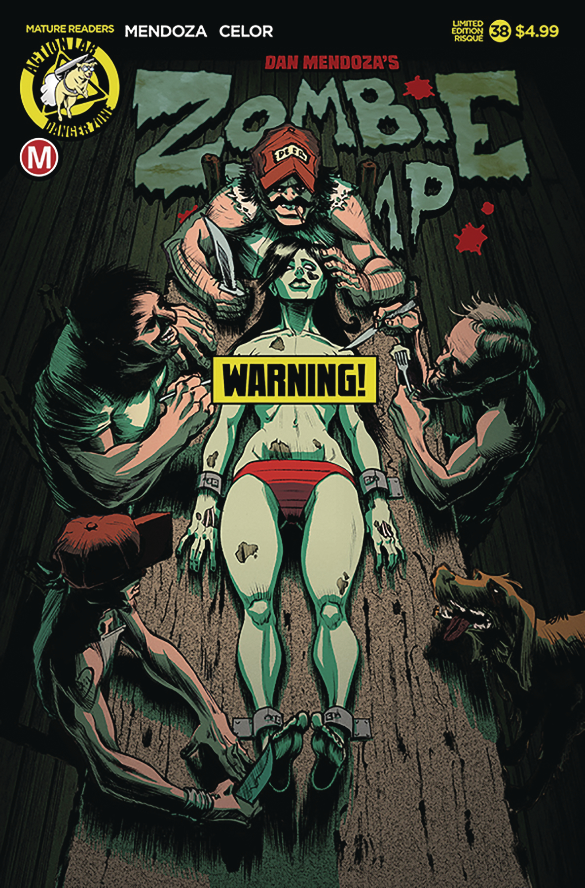 ZOMBIE TRAMP ONGOING #38 CVR D RISQUE DINNER TIME (MR)