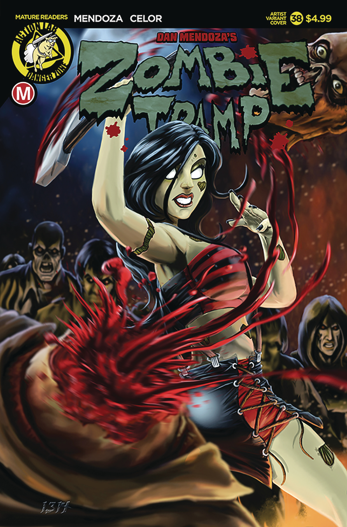 ZOMBIE TRAMP ONGOING #38 CVR E ARTIST (MR)