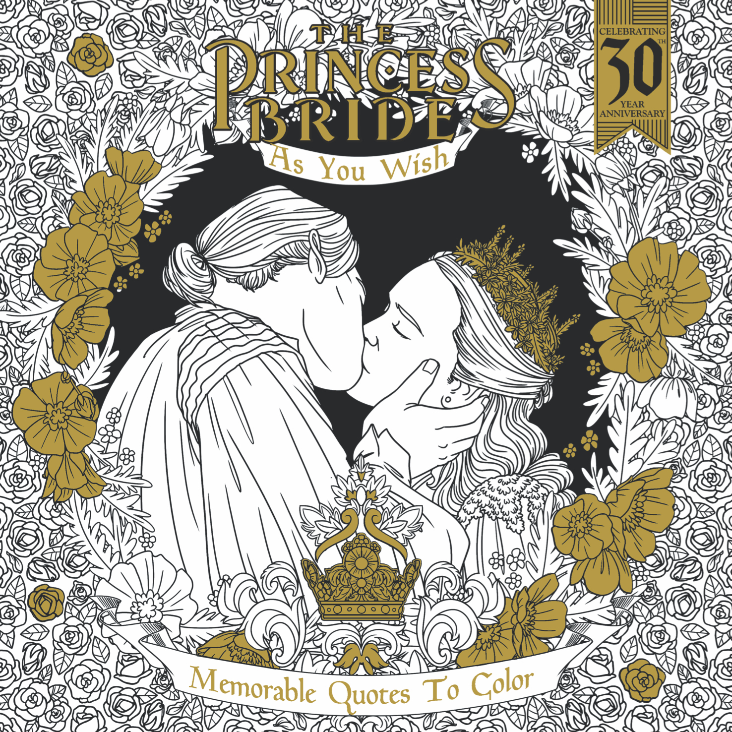 PRINCESS BRIDE AS YOU WISH MEMORABLE QUOTES TO COLOR TP