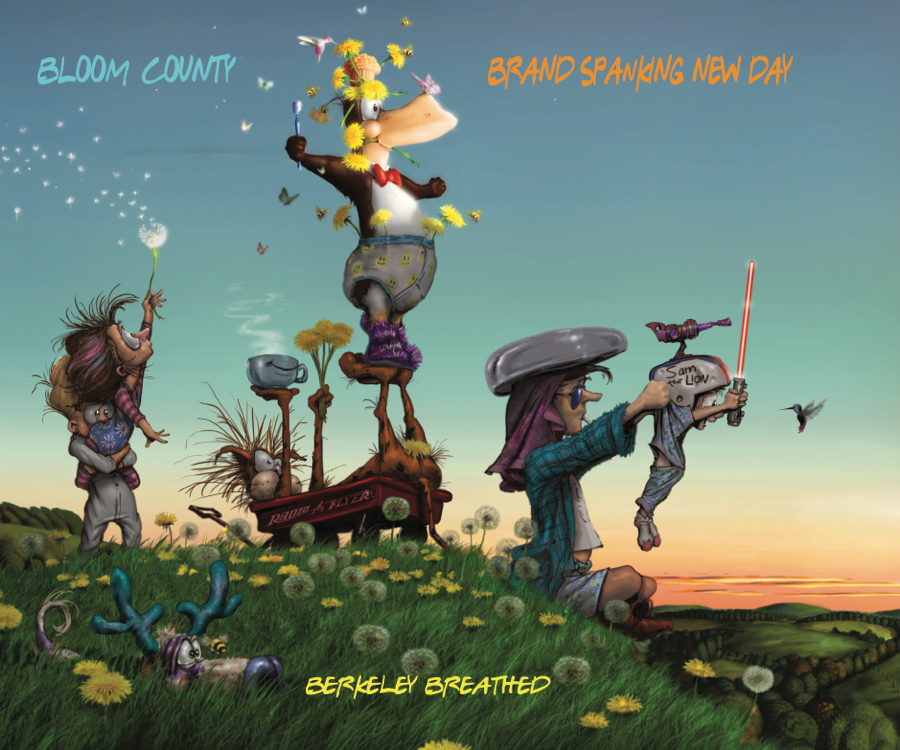 BLOOM COUNTY BRAND SPANKING NEW DAY TP