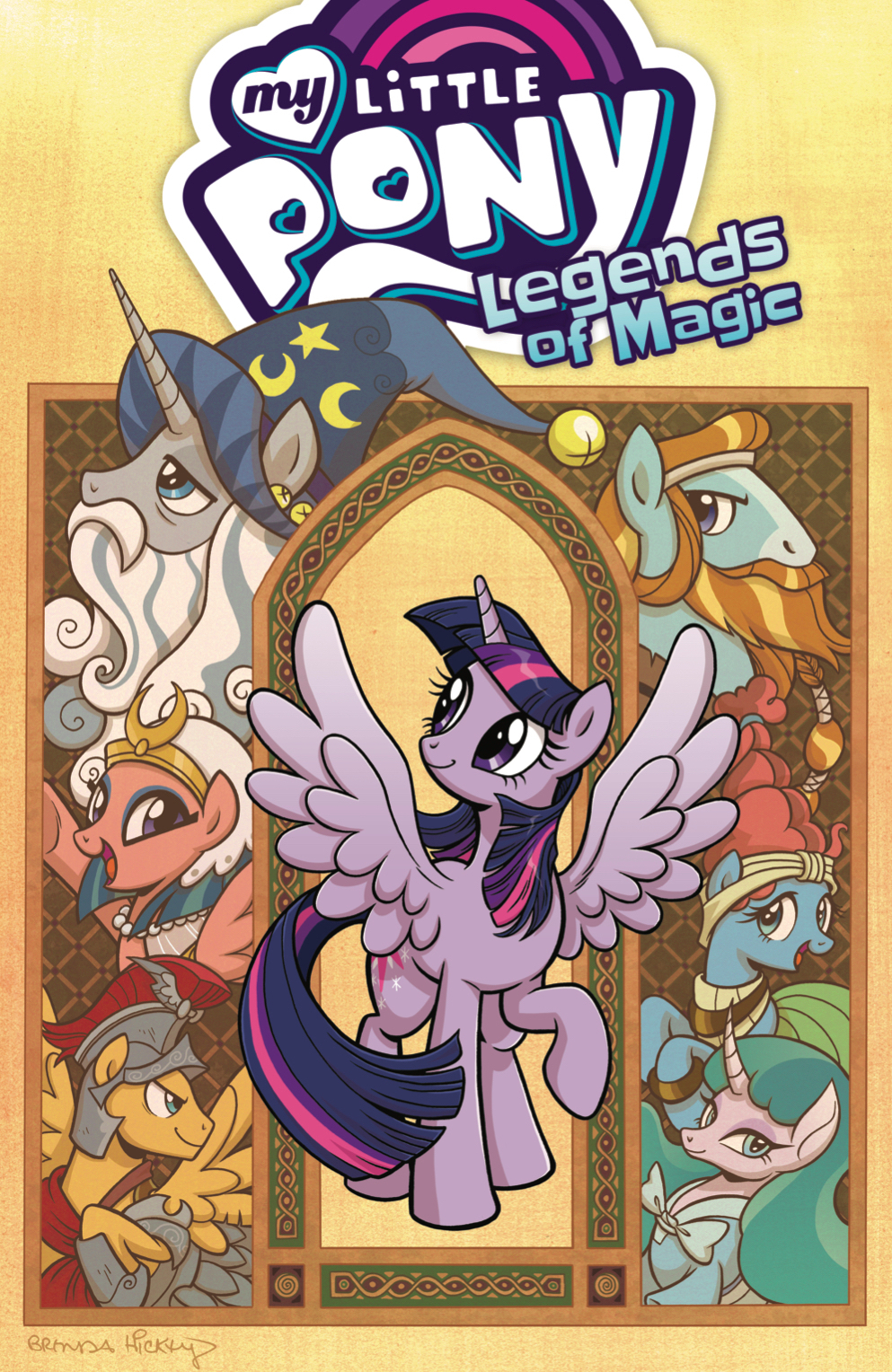 MY LITTLE PONY LEGENDS OF MAGIC TP VOL 01