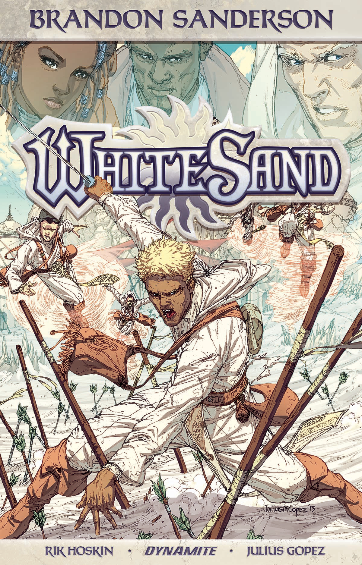 BRANDON SANDERSON WHITE SAND TP VOL 01 (JUL171745)