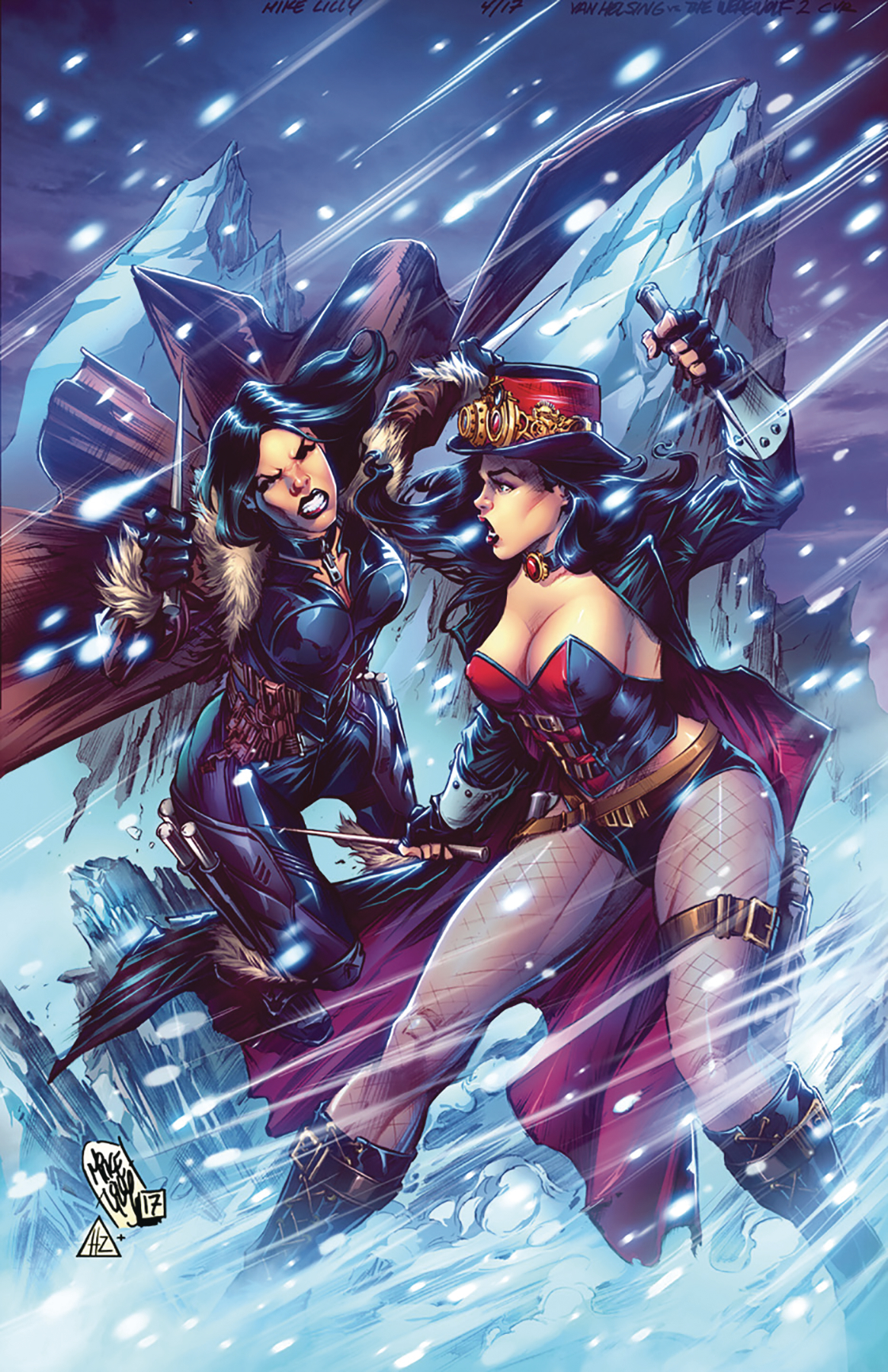 VAN HELSING VS THE WEREWOLF #2 CVR B LILLY