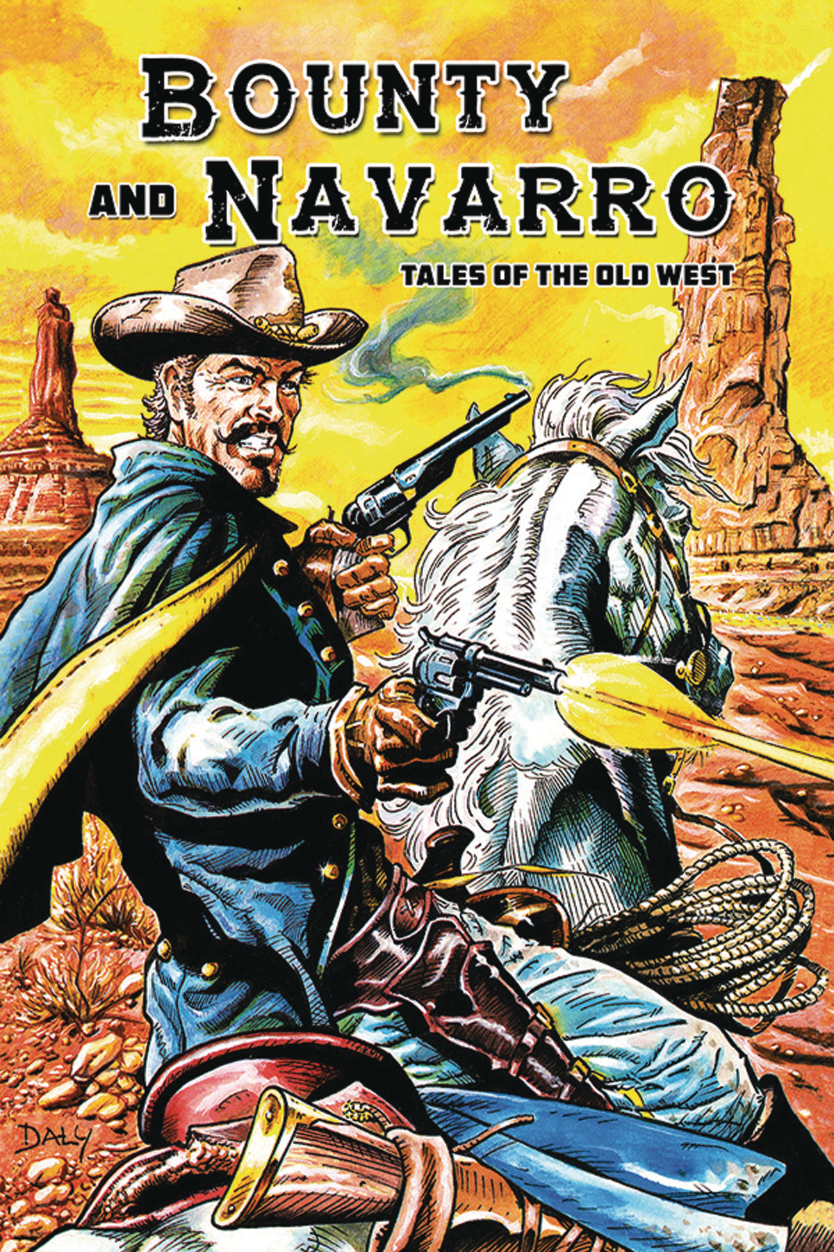 BOUNTY AND NAVARRO TALES OF THE OLD WEST GN