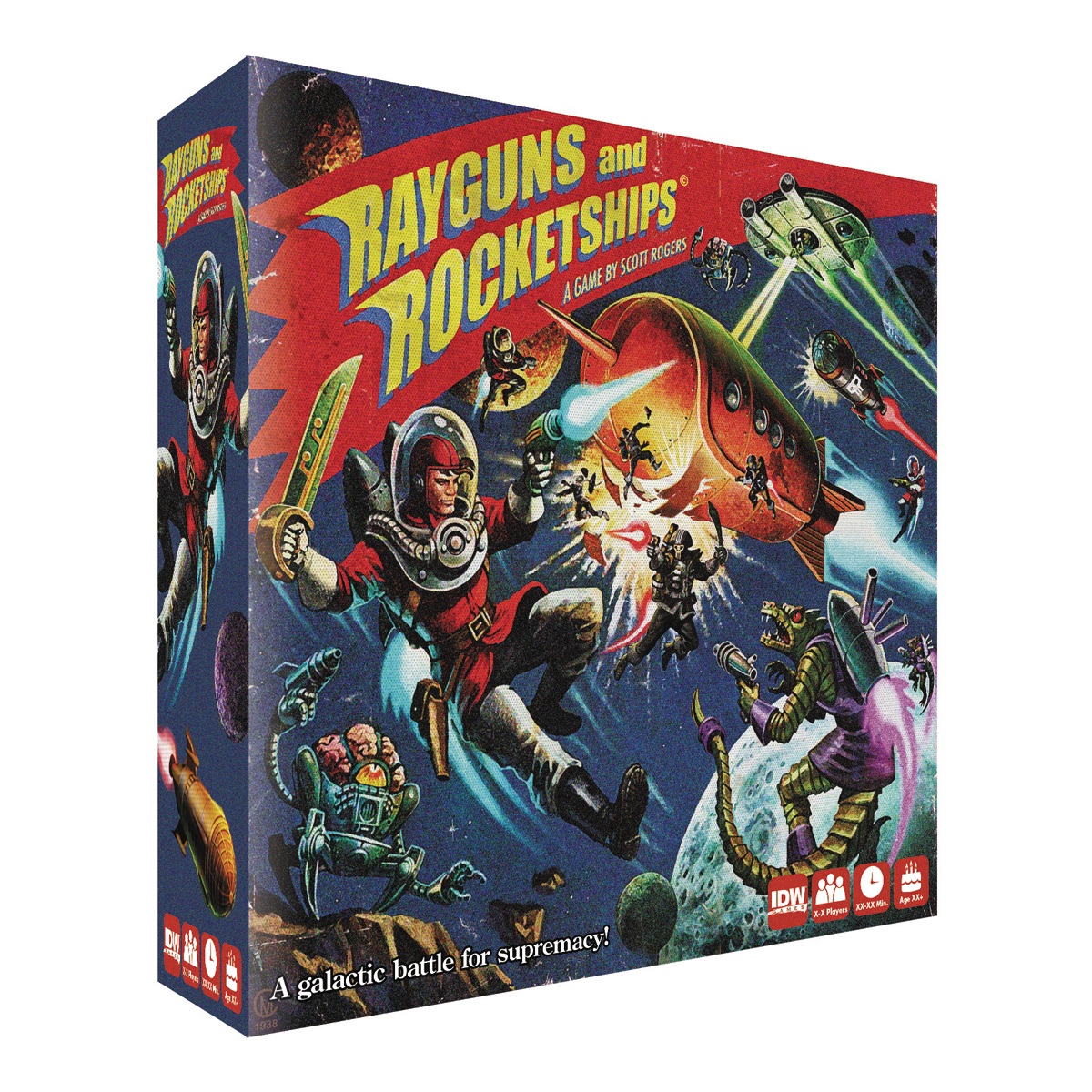 RAYGUNS & ROCKETSHIPS BOARD GAME (JUN170615)