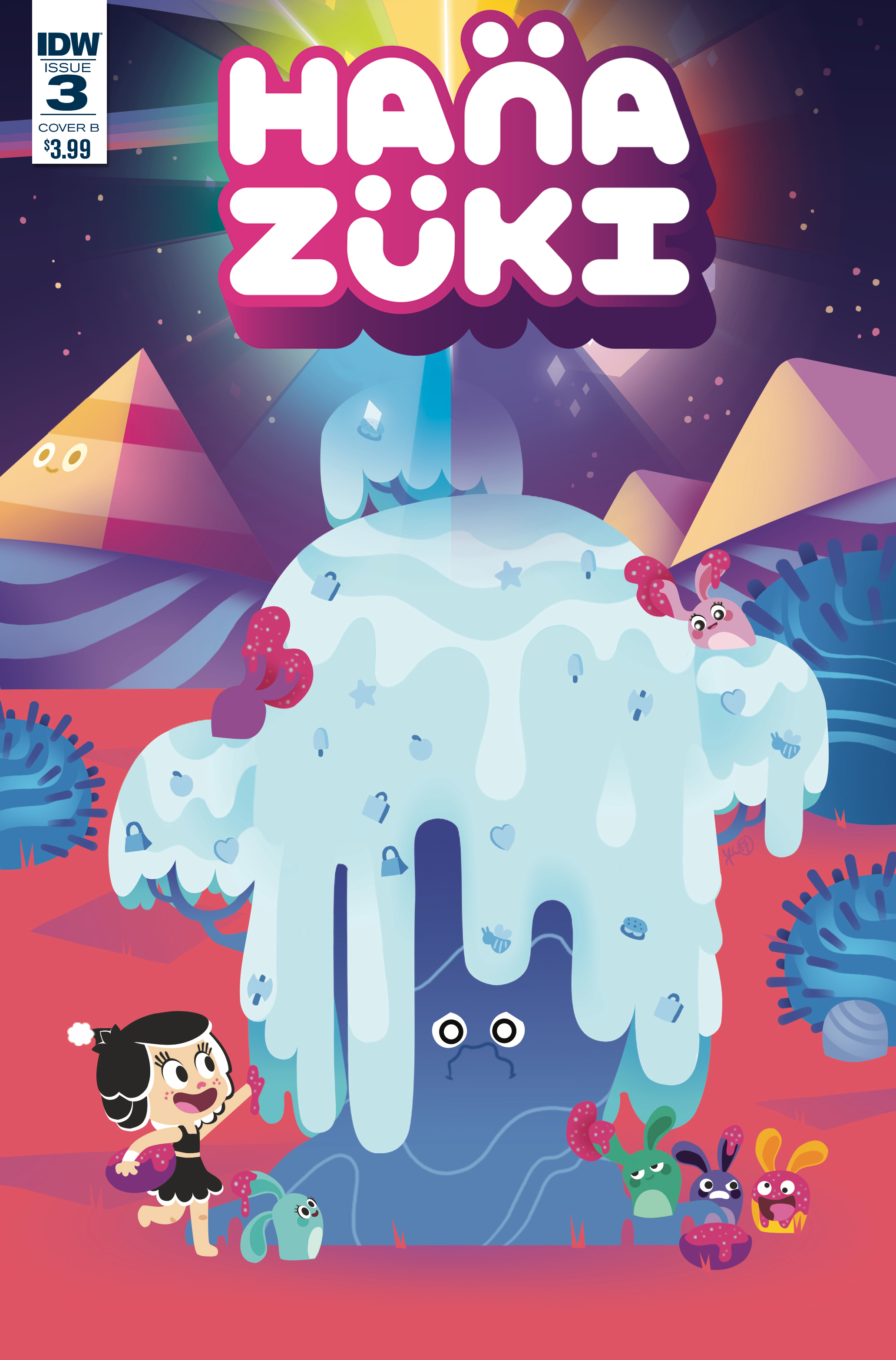 HANAZUKI FULL OF TREASURES #3 CVR B SHEIKH