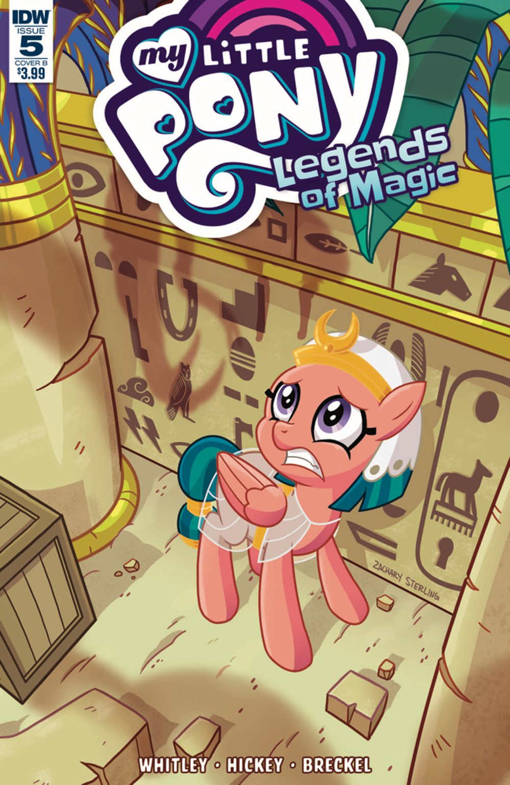 MY LITTLE PONY LEGENDS OF MAGIC #5 CVR B STERLING