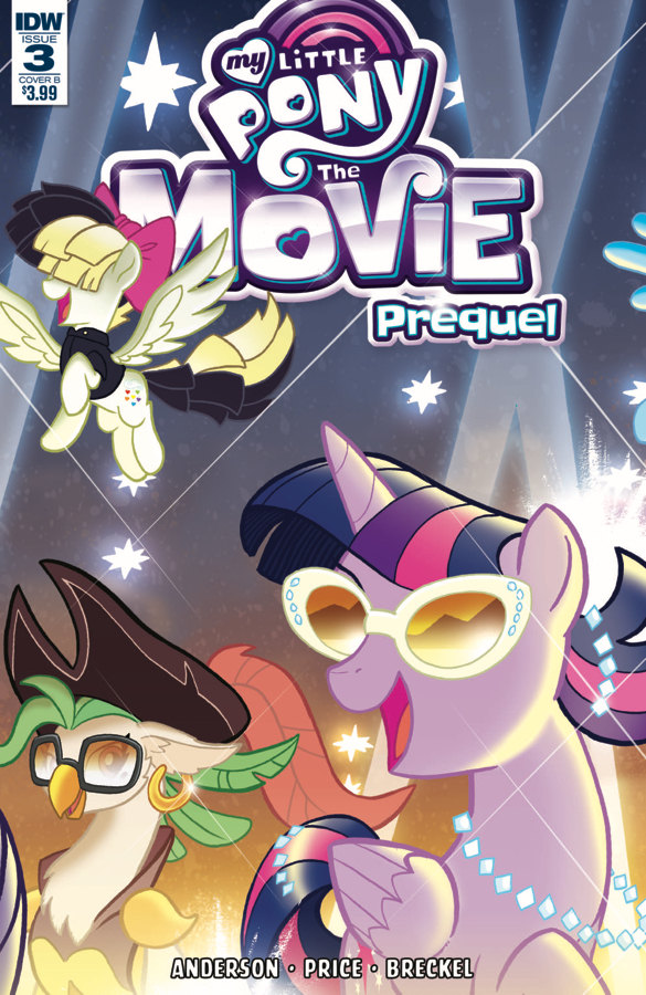 MY LITTLE PONY MOVIE PREQUEL #3 CVR B FLEECS