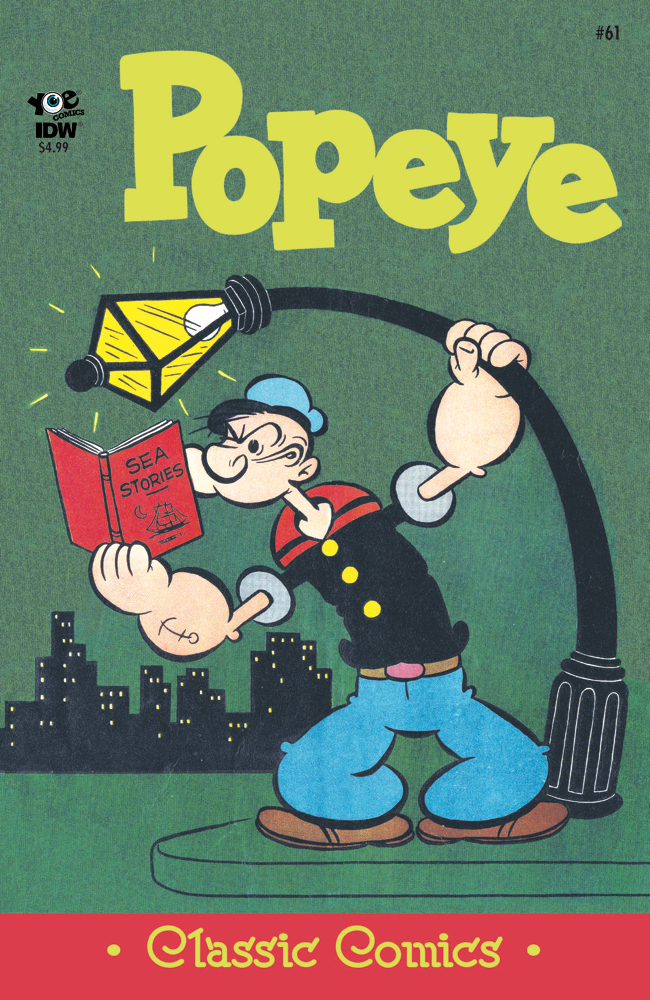 POPEYE CLASSICS ONGOING #61