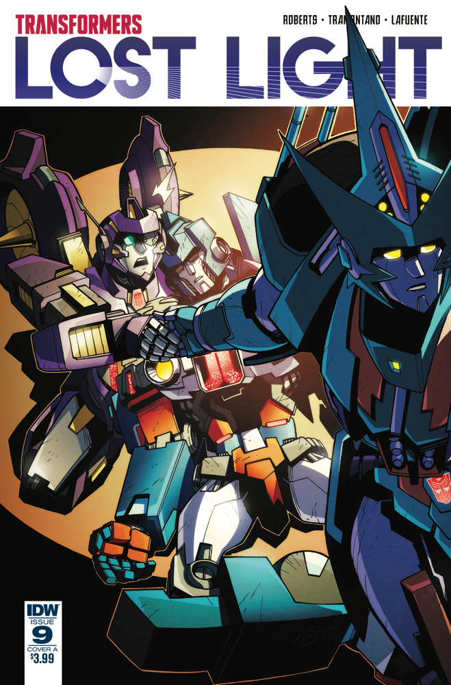 TRANSFORMERS LOST LIGHT #9 CVR A LAWRENCE