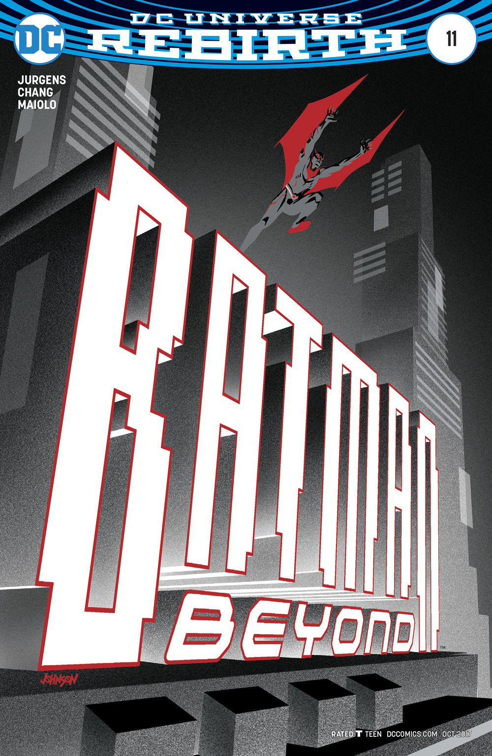 BATMAN BEYOND #11 VAR ED