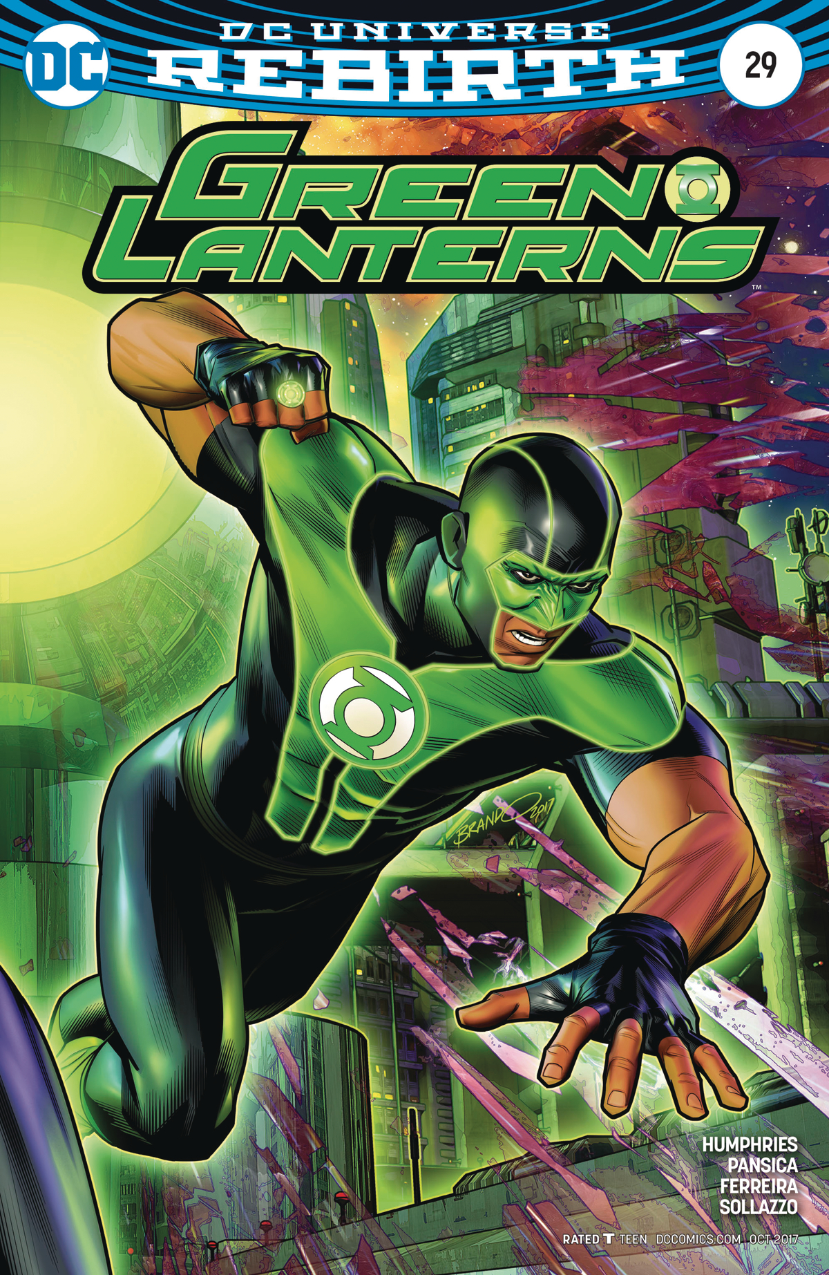 GREEN LANTERNS #29 VAR ED