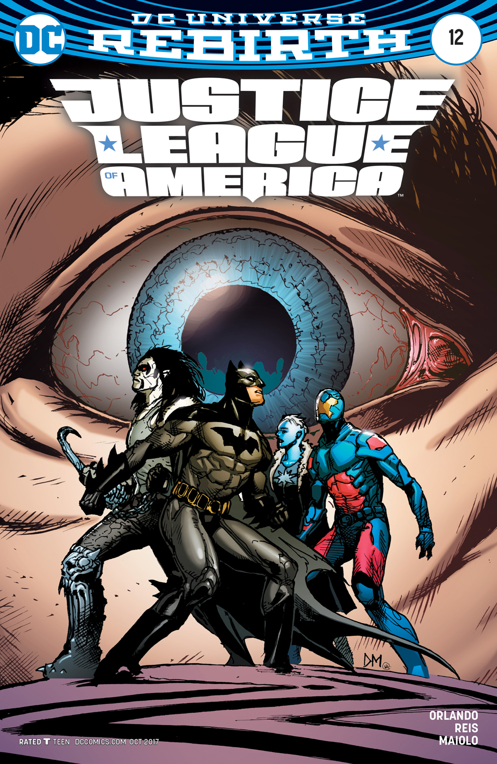 JUSTICE LEAGUE OF AMERICA #12 VAR ED