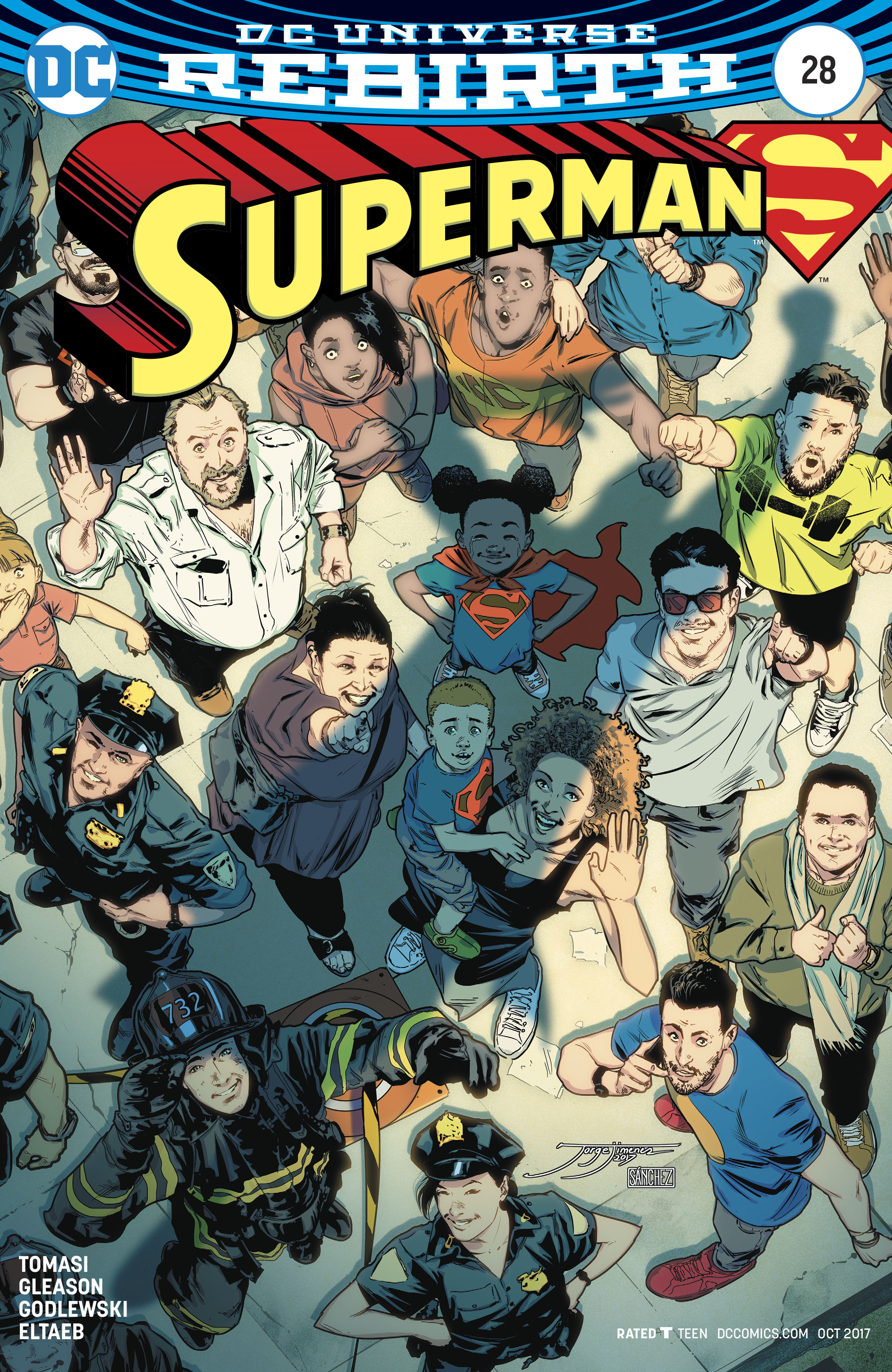 SUPERMAN #28 VAR ED