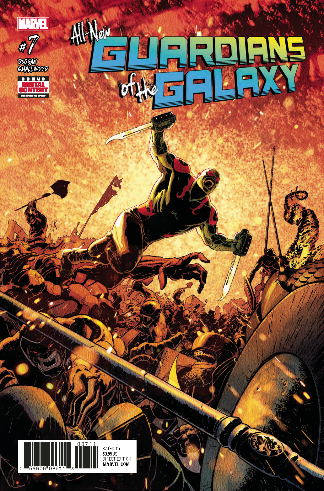 ALL NEW GUARDIANS OF GALAXY #7