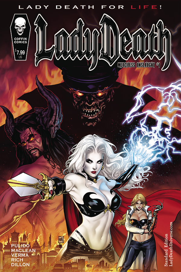 LADY DEATH MERCILESS ONSLAUGHT #1 STANDARD CVR